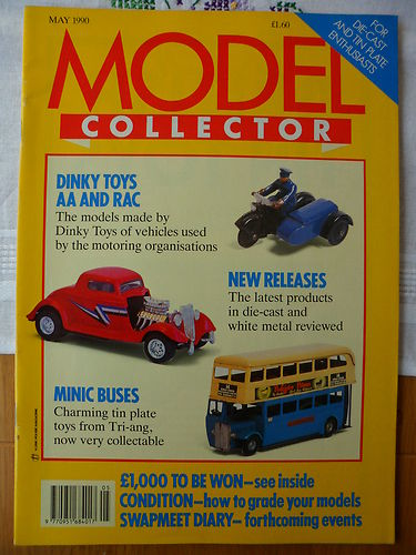 ORIGINAL MODEL COLLECTOR MAGAZINE May 1990