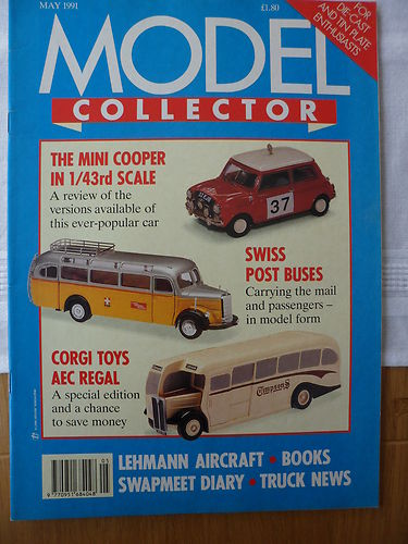 ORIGINAL MODEL COLLECTOR MAGAZINE May 1991