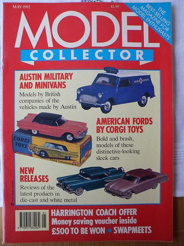 ORIGINAL MODEL COLLECTOR MAGAZINE May 1992