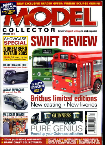 ORIGINAL MODEL COLLECTOR MAGAZINE May 2005