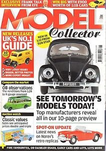ORIGINAL MODEL COLLECTOR MAGAZINE May 2009