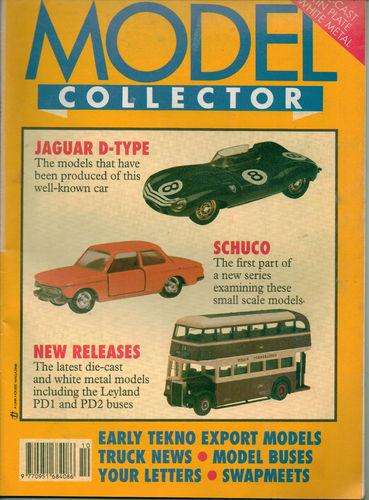 ORIGINAL MODEL COLLECTOR MAGAZINE October 1993