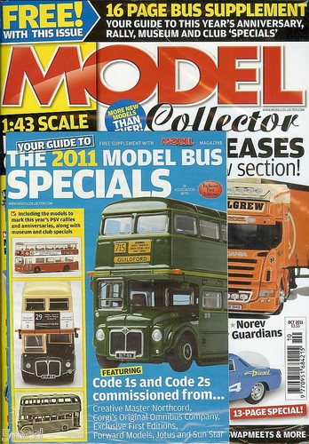 ORIGINAL MODEL COLLECTOR MAGAZINE October 2011