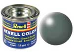 REVELL NO.360 GREEN SILK ENAMEL PAINT 14ml