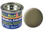 REVELL NO.39 DARK GREEN MATT ENAMEL PAINT 14ml