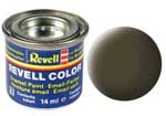REVELL NO.40 BLACK-GREEN MATT ENAMEL PAINT 14ml