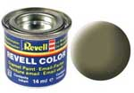 REVELL NO.45 LIGHT OLIVE MATT ENAMEL PAINT 14ml