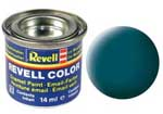 REVELL NO.48 SEA GREEN MATT ENAMEL PAINT 14ml