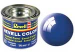 REVELL NO.52 BLUE GLOSS ENAMEL PAINT 14ml