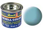REVELL NO.55 LIGHT GREEN MATT ENAMEL PAINT 14ml