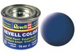 REVELL NO.56 BLUE MATT ENAMEL PAINT 14ml