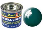 REVELL NO.62 SEA GREEN GLOSS ENAMEL PAINT 14ml