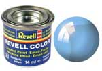 REVELL NO.752 BLUE CLEAR ENAMEL PAINT 14ml