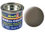 REVELL NO.86 OLIVE BROWN MATT ENAMEL PAINT 14ml