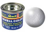 REVELL NO.90 SILVER METALLIC ENAMEL PAINT 14ml