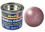 REVELL NO.93 COPPER METALLIC ENAMEL PAINT 14ml