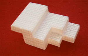 TRI-ANG SPOT-ON 122 Milk float white plastic crate load