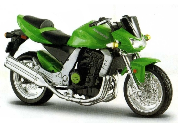 1:18 Scale Bburago KAWASAKI Z1000 Motorcycle Kit