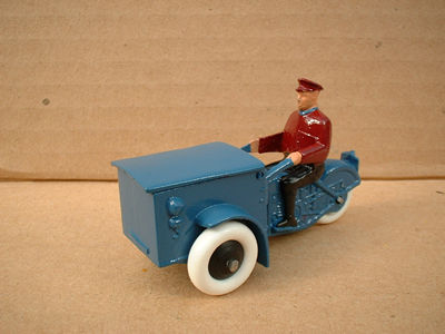 A DINKY TOYS COPY MODEL 14 TRIPORTEUR WITH RUBBER WHEELS
