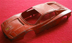 BURAGO - Original - 1:43 Ferrari Testa Rossa Body for restoration