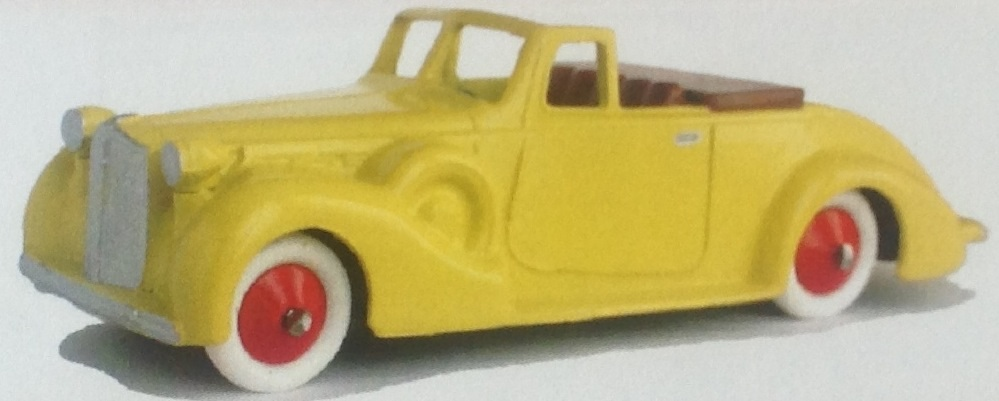 CLUB DINKY FRANCE MODEL No. CDF66 PACKARD CABRIOLET