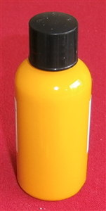 "Computer Matched 50ml Bottle of ""Deep Orange / Yellow"" brush paint for Dinky Toys 480 Bedford Kodak"
