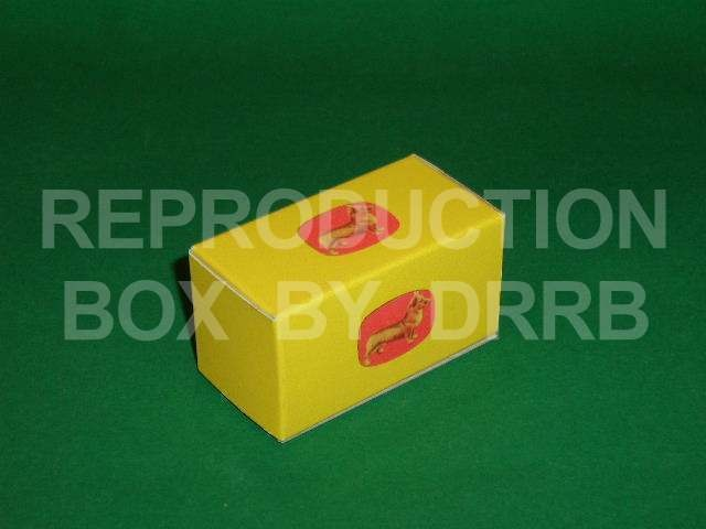 Corgi. Gift Set # 0 Spacer Box (small) - Reproduction Box