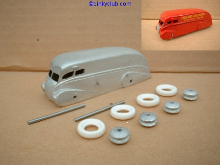 Dinky Toys copy model 31 Holland Coachcraft in kit form