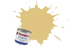 HUMBROL NO.103 MATT CREAM ENAMEL PAINT 14ml
