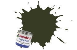 HUMBROL NO.106 MATT OCEAN GREY ENAMEL PAINT 14ml