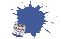 HUMBROL NO.109 MATT WW1 BLUE ENAMEL PAINT 14ml
