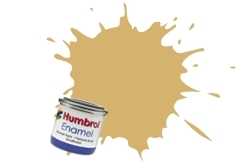 HUMBROL NO.121 MATT PALE STONE ENAMEL PAINT 14ml