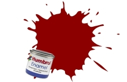 HUMBROL NO.20 CRIMSON ENAMEL PAINT 14ml