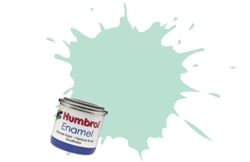 HUMBROL NO.23 DUCK EGG BLUE ENAMEL PAINT 14ml