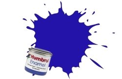 HUMBROL NO.25 MATT BLUE ENAMEL PAINT 14ml