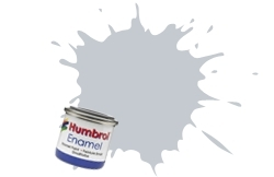 HUMBROL NO.28 CAMOUFLAGE GREY ENAMEL PAINT 14ml