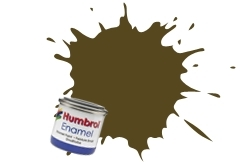 HUMBROL NO.29 MATT DARK EARTH ENAMEL PAINT 14ml