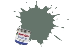 HUMBROL NO.31 MATT SLATE GREY ENAMEL PAINT 14ml