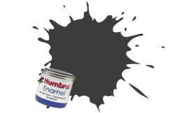 HUMBROL NO.32 MATT DARK GREY ENAMEL PAINT 14ml