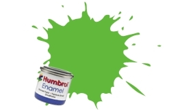 HUMBROL NO.38 LIME ENAMEL PAINT 14ml