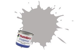 HUMBROL NO.40 PALE GREY ENAMEL PAINT 14ml