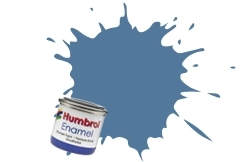HUMBROL NO.48 MEDITERRANEAN BLUE ENAMEL PAINT 14ml