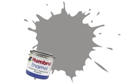 HUMBROL NO.5 DARK AD GREY ENAMEL PAINT 14ml