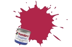 HUMBROL NO.51 SUNSET RED ENAMEL PAINT 14ml