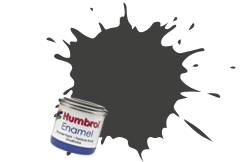 HUMBROL NO.53 GUNMETAL ENAMEL PAINT 14ml