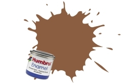HUMBROL NO.62 MATT LEATHER ENAMEL PAINT 14ml