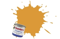 HUMBROL NO.63 MATT SAND ENAMEL PAINT 14ml