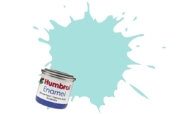 HUMBROL NO.65 MATT AIRCRAFT BLUE ENAMEL PAINT 14ml