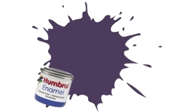 HUMBROL NO.68 PURPLE ENAMEL PAINT 14ml