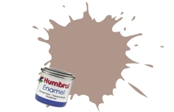 HUMBROL NO.72 MATT KHAKI DRILL ENAMEL PAINT 14ml